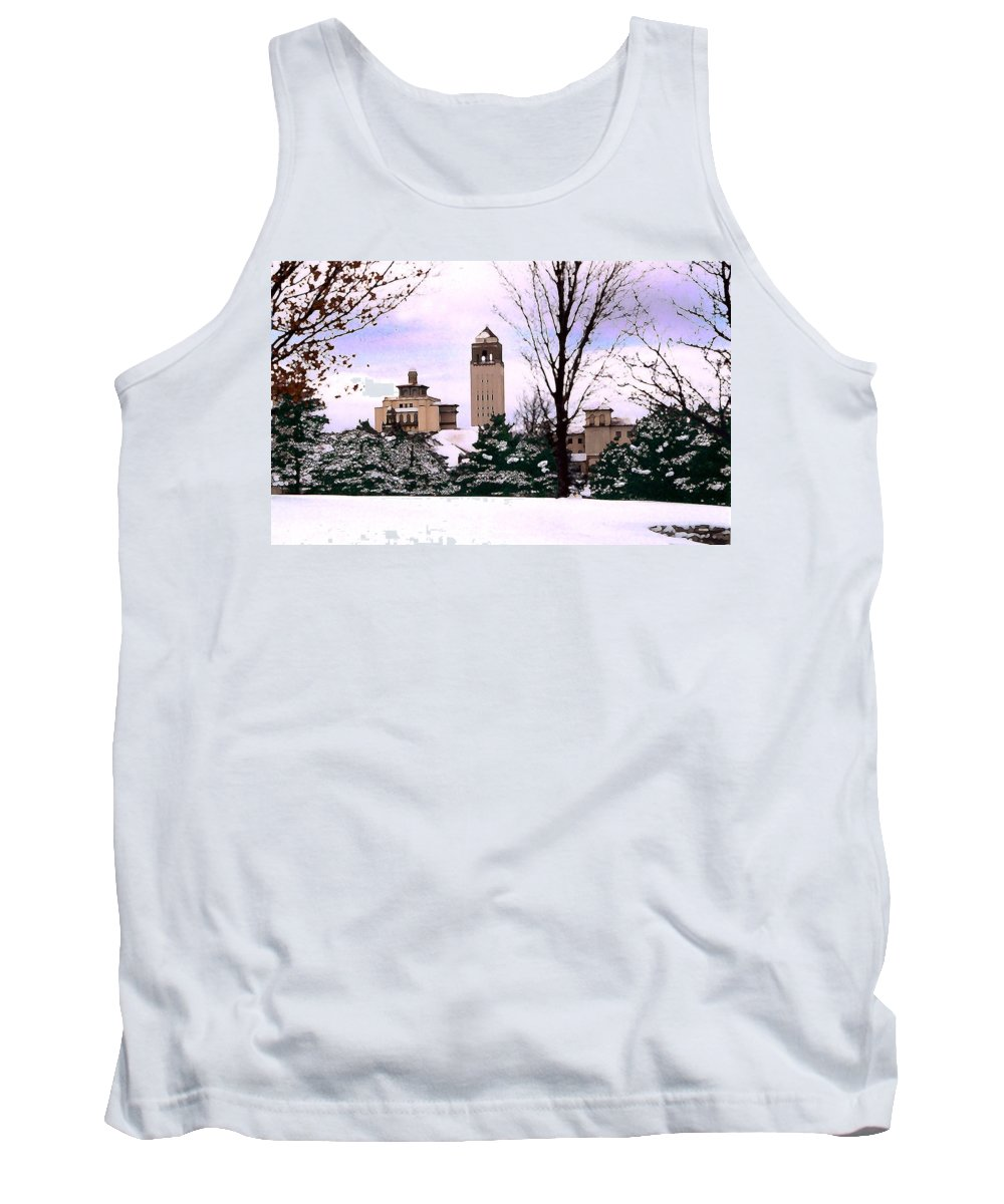 Landscape Tank Top featuring the photograph Unity Village by Steve Karol
