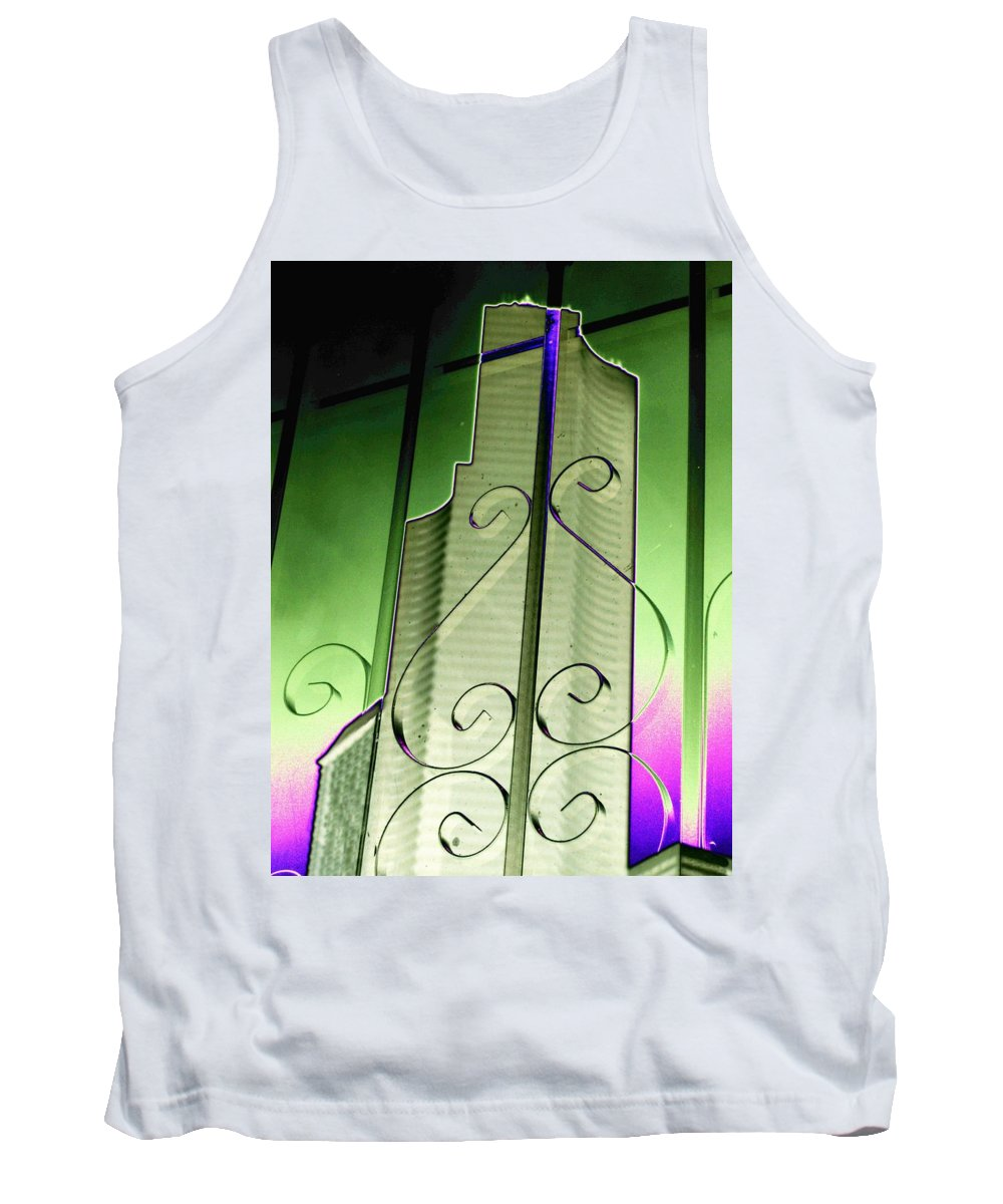 Seattle Tank Top featuring the photograph Urban Reflection 2 by Tim Allen