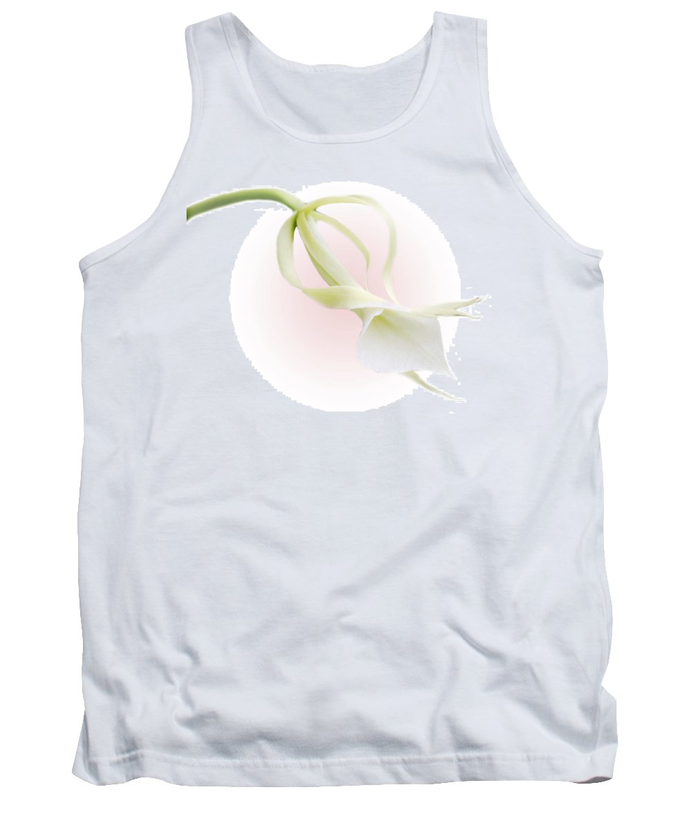 Love Tank Top featuring the photograph Valentine Orchid by Marilyn Hunt
