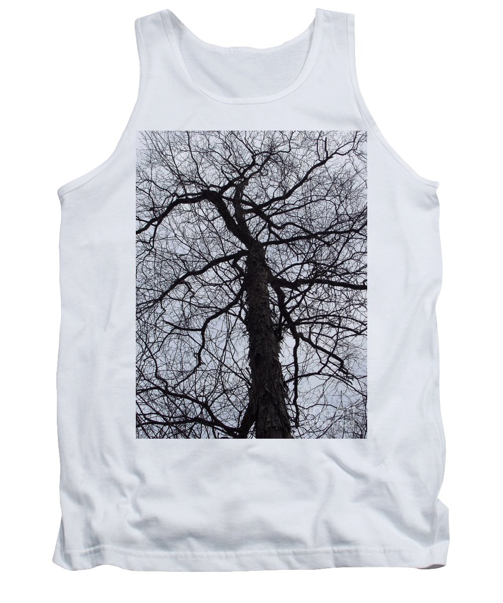 Hickory Tank Top featuring the photograph Veins And Vessels by Deborah Crew-Johnson