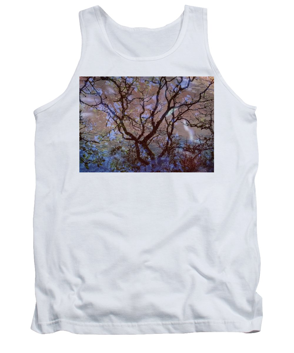 Veins Tank Top featuring the photograph Veins Of Llife by Lyn Perry