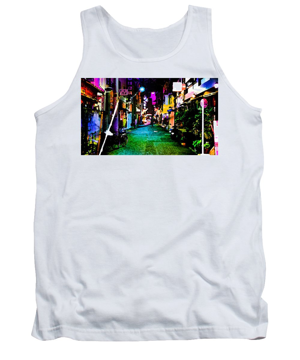 World's Tank Top featuring the digital art Waiting For You by Ron Fleishman