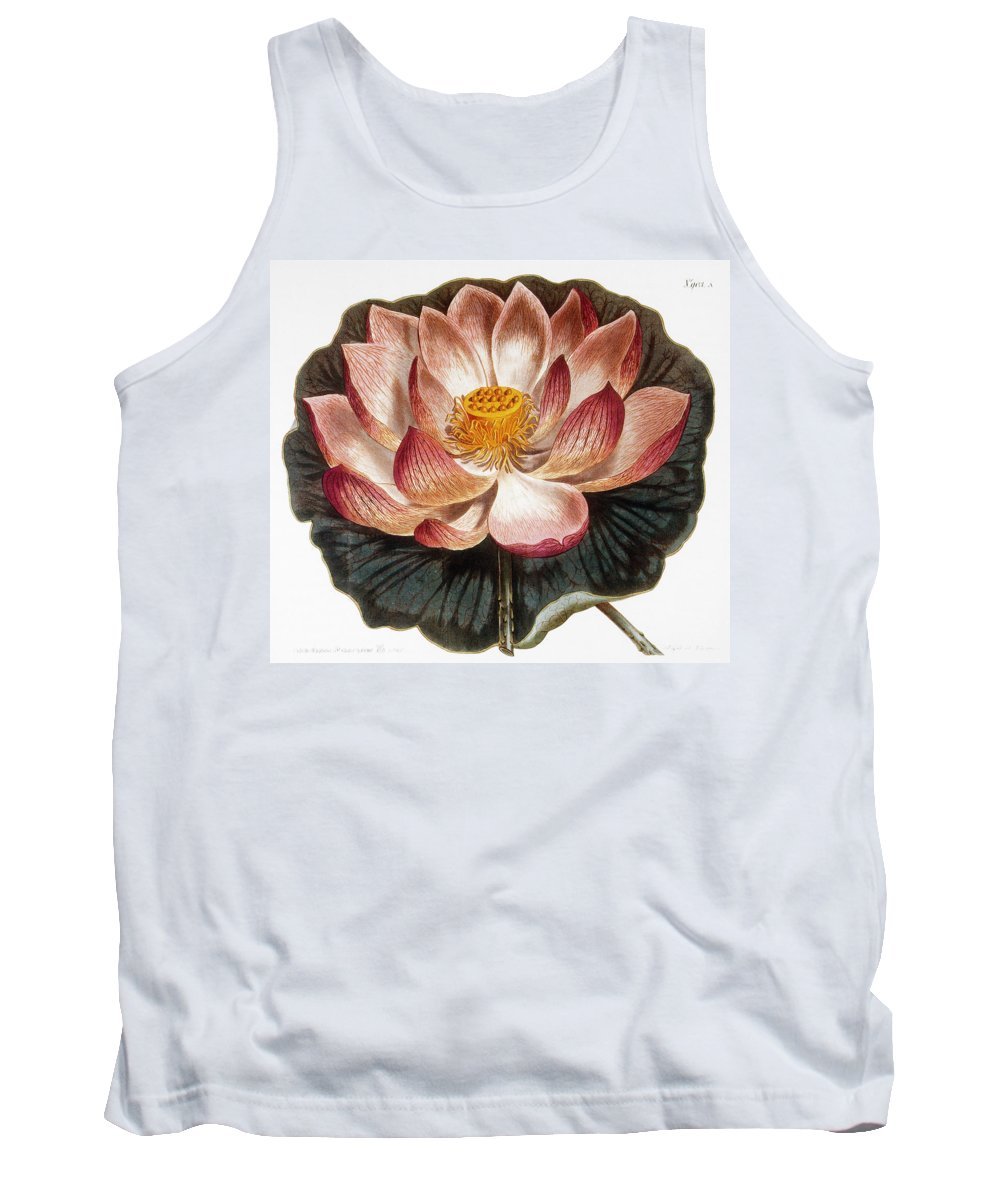 1806 Tank Top featuring the photograph Water Lily, 1806 by Granger
