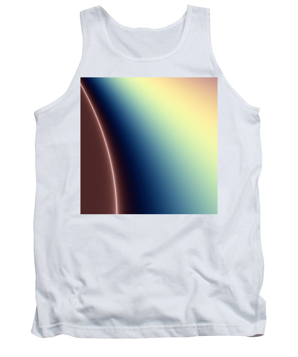 Digital Art Tank Top featuring the digital art Way Out II by Dragica Micki Fortuna