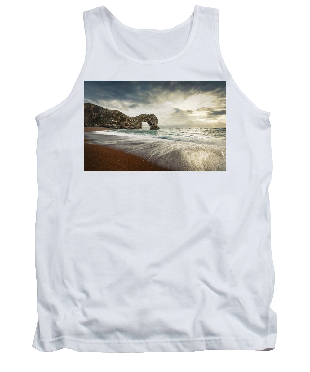 Svetlana Sewell Tank Top featuring the photograph Welcome To Open Water by Svetlana Sewell