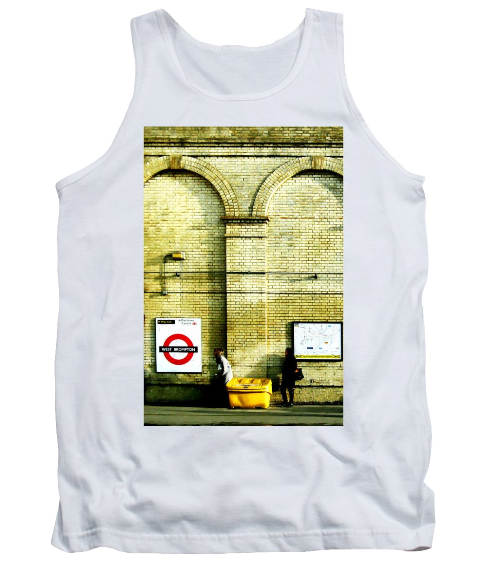 London Tank Top featuring the photograph West Brompton by Osvaldo Hamer