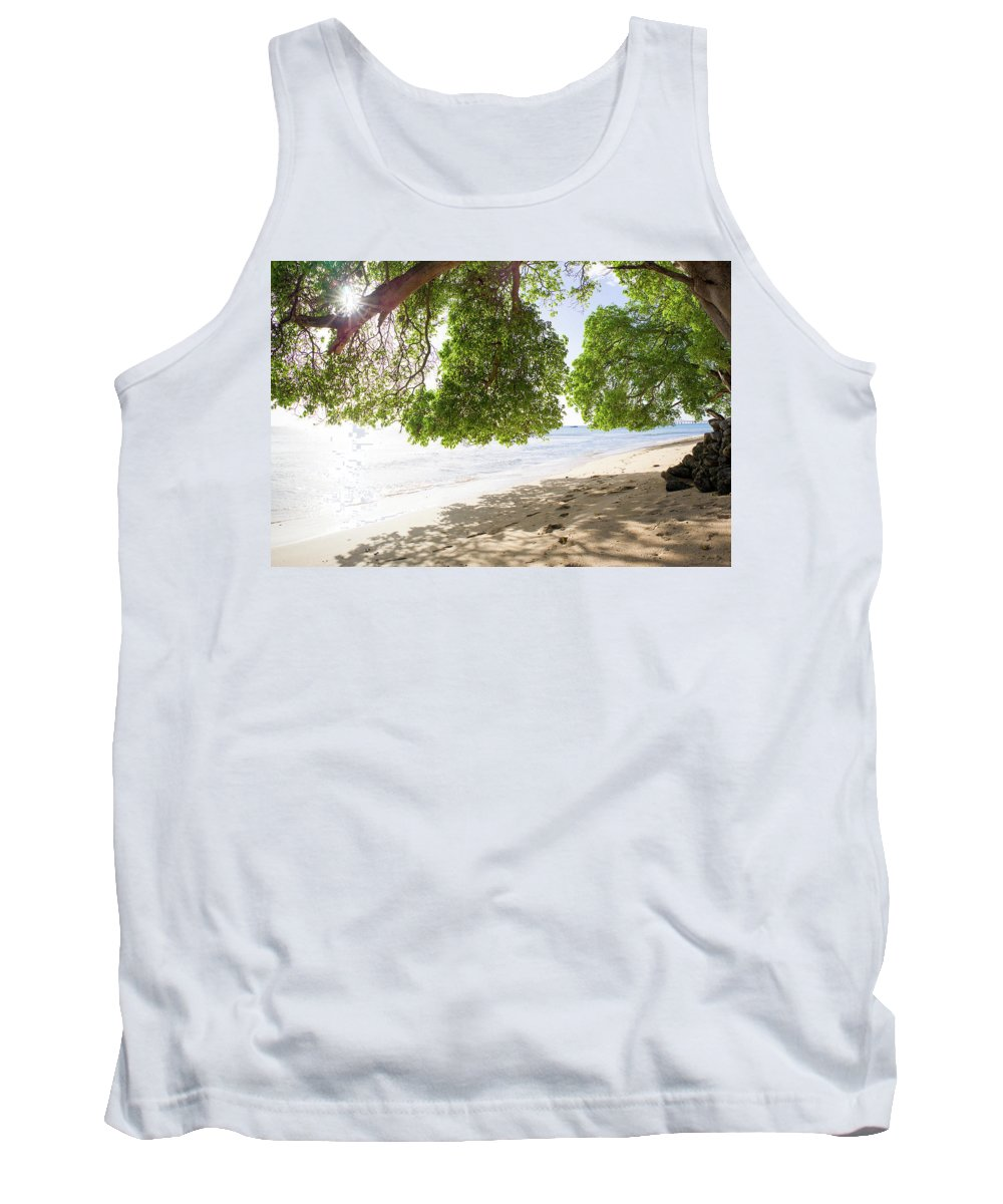 Barbados Tank Top featuring the photograph West Coast by Ferry Zievinger