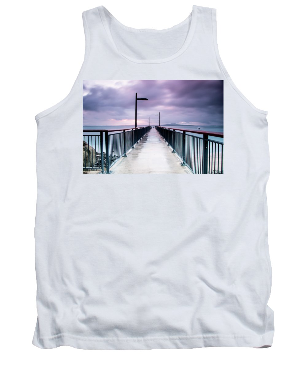 Wharf Tank Top featuring the photograph Wharf by Hasenwinkelpix