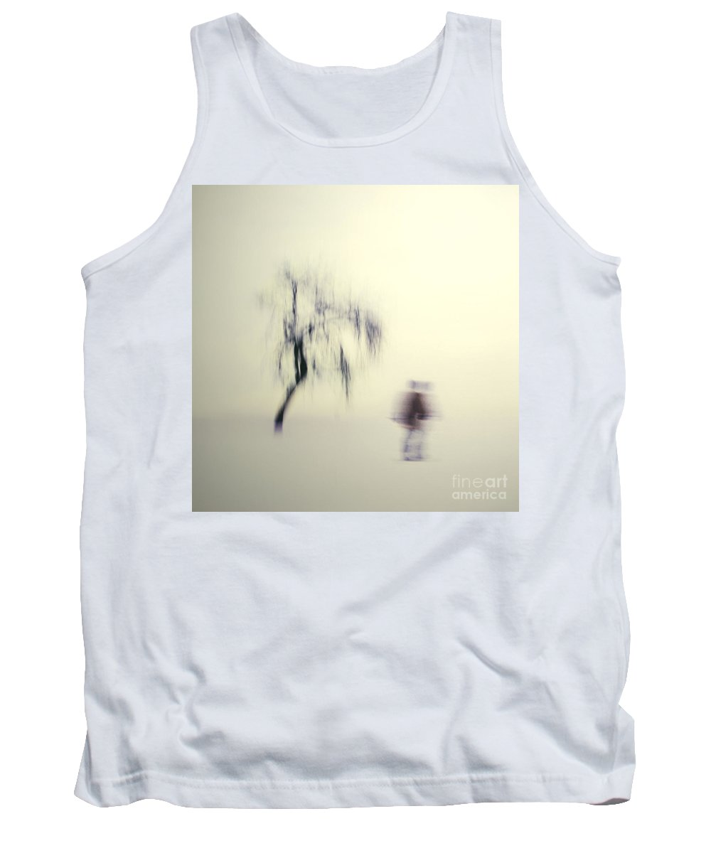 Blur Tank Top featuring the photograph What Is The Way To The Light by Dana DiPasquale