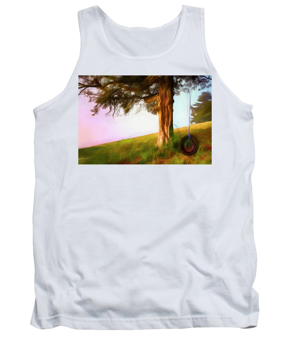 Appalachia Tank Top featuring the photograph Whispers Of The Wind by Debra and Dave Vanderlaan