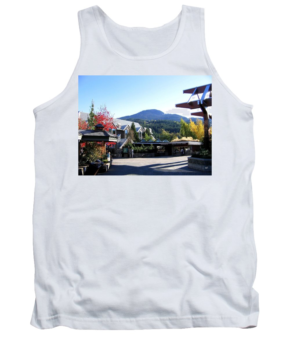 2010 Olympics Tank Top featuring the photograph Whistler Mountain by Will Borden