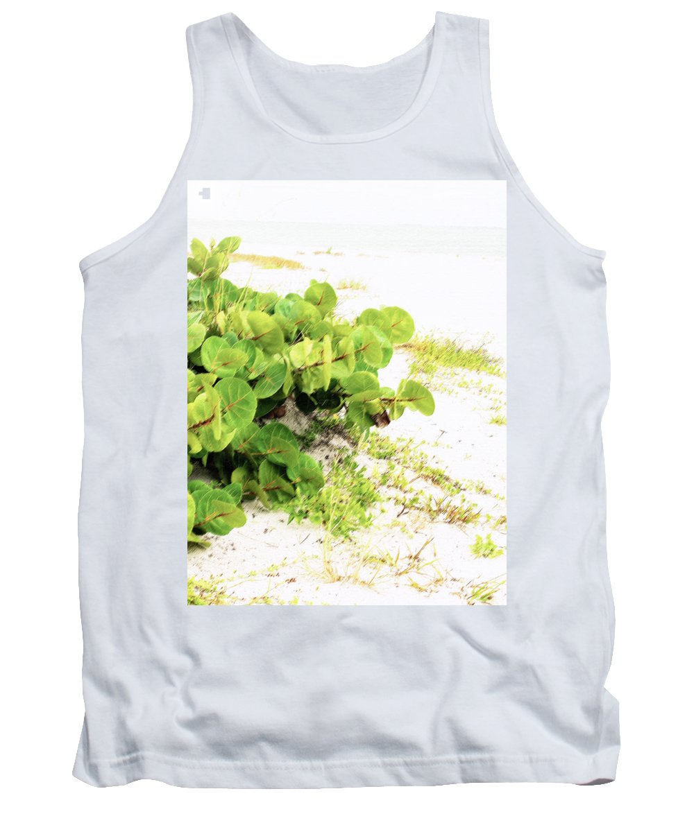 Florida Tank Top featuring the photograph White Sand Beach by Ian MacDonald