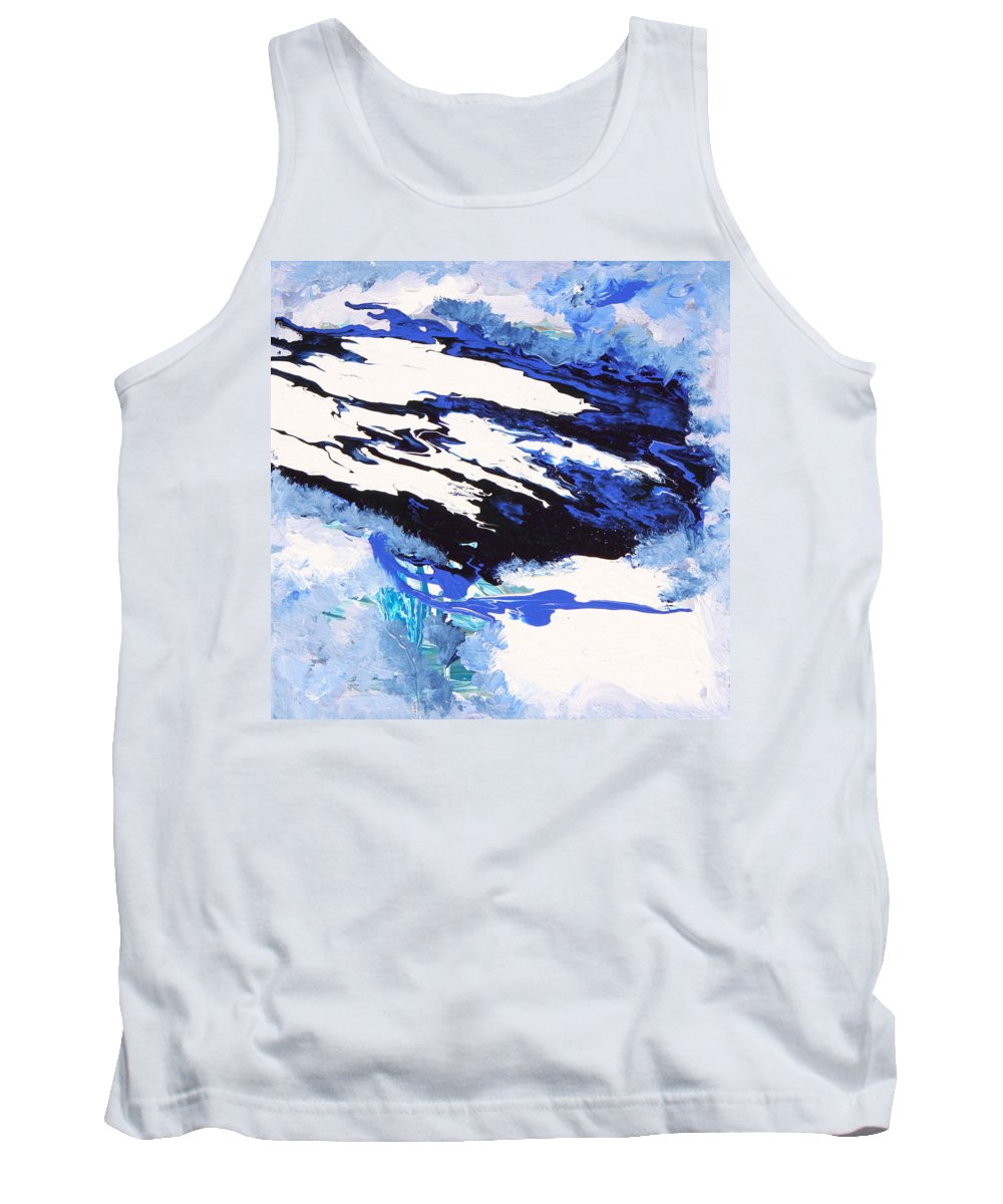Fusionart Tank Top featuring the painting Wind by Ralph White