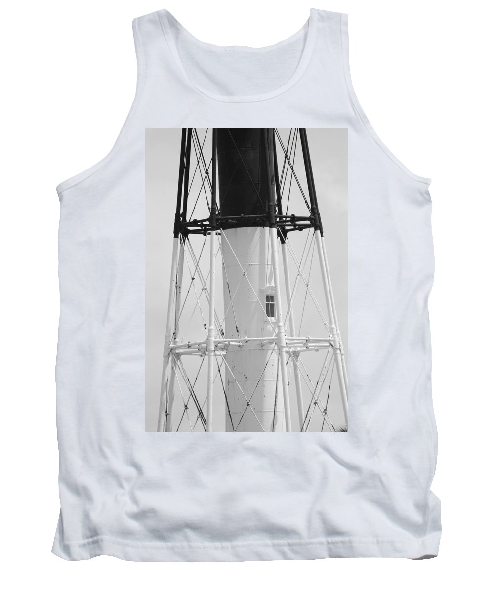 Landscape Tank Top featuring the photograph Window Lighthouse by Rob Hans