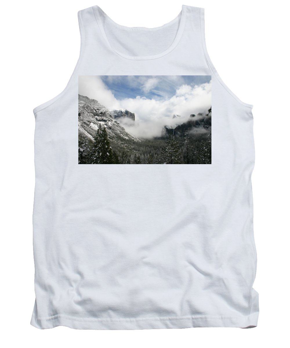 Landscape Tank Top featuring the photograph Winter Inspiration by Travis Day