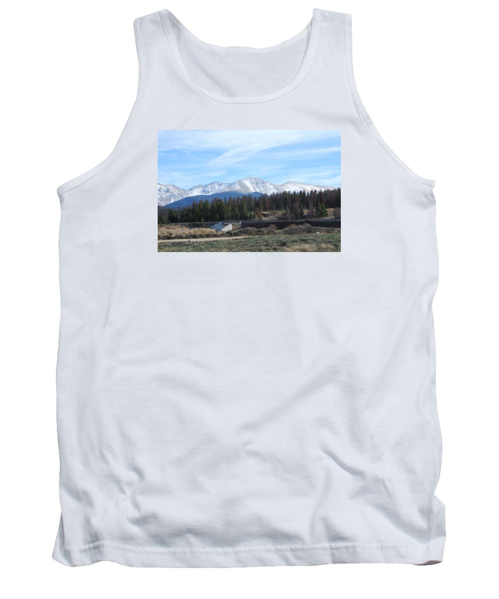 Colorado Tank Top featuring the photograph Winter Park Colorado by Margaret Fortunato