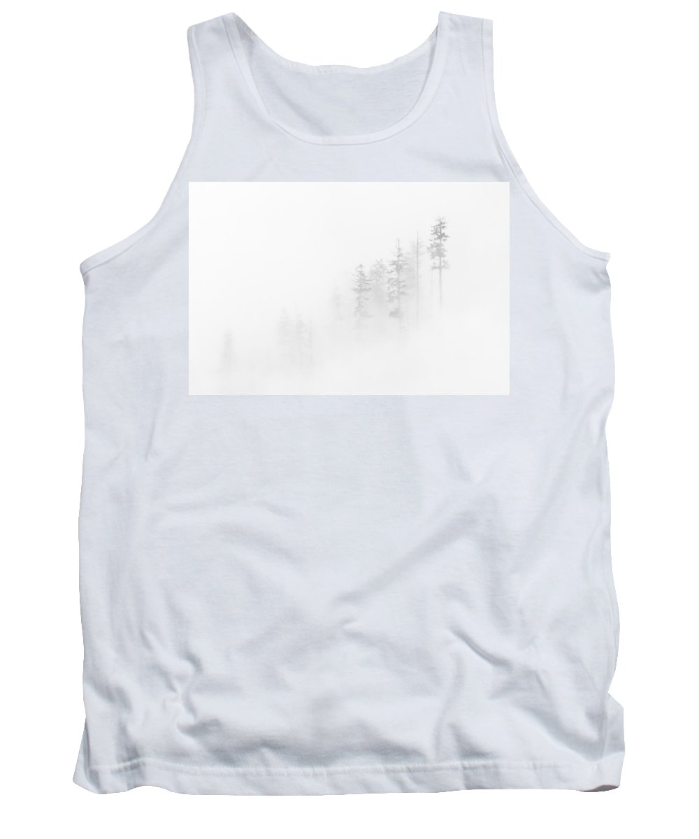 Winter Tank Top featuring the photograph Winter Veil by Mike Dawson