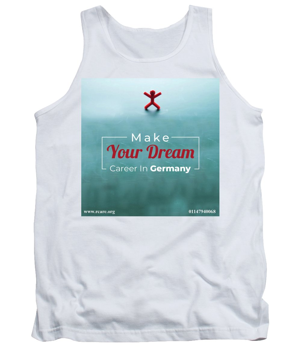 Education Consultants For German Tank Top featuring the pyrography Free Study Abroad Consultant by Best Education