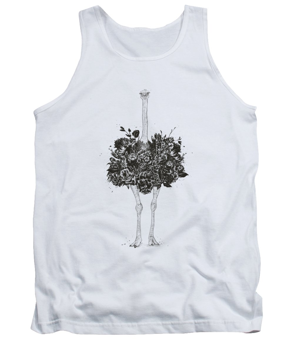 White Bird Tank Tops