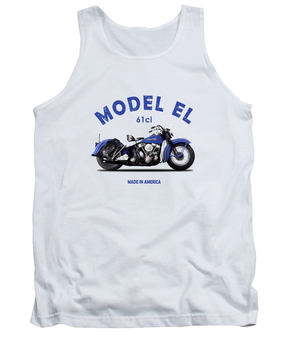 Harley Davidson Tank Top featuring the photograph Harley-davidson El 1948 by Mark Rogan
