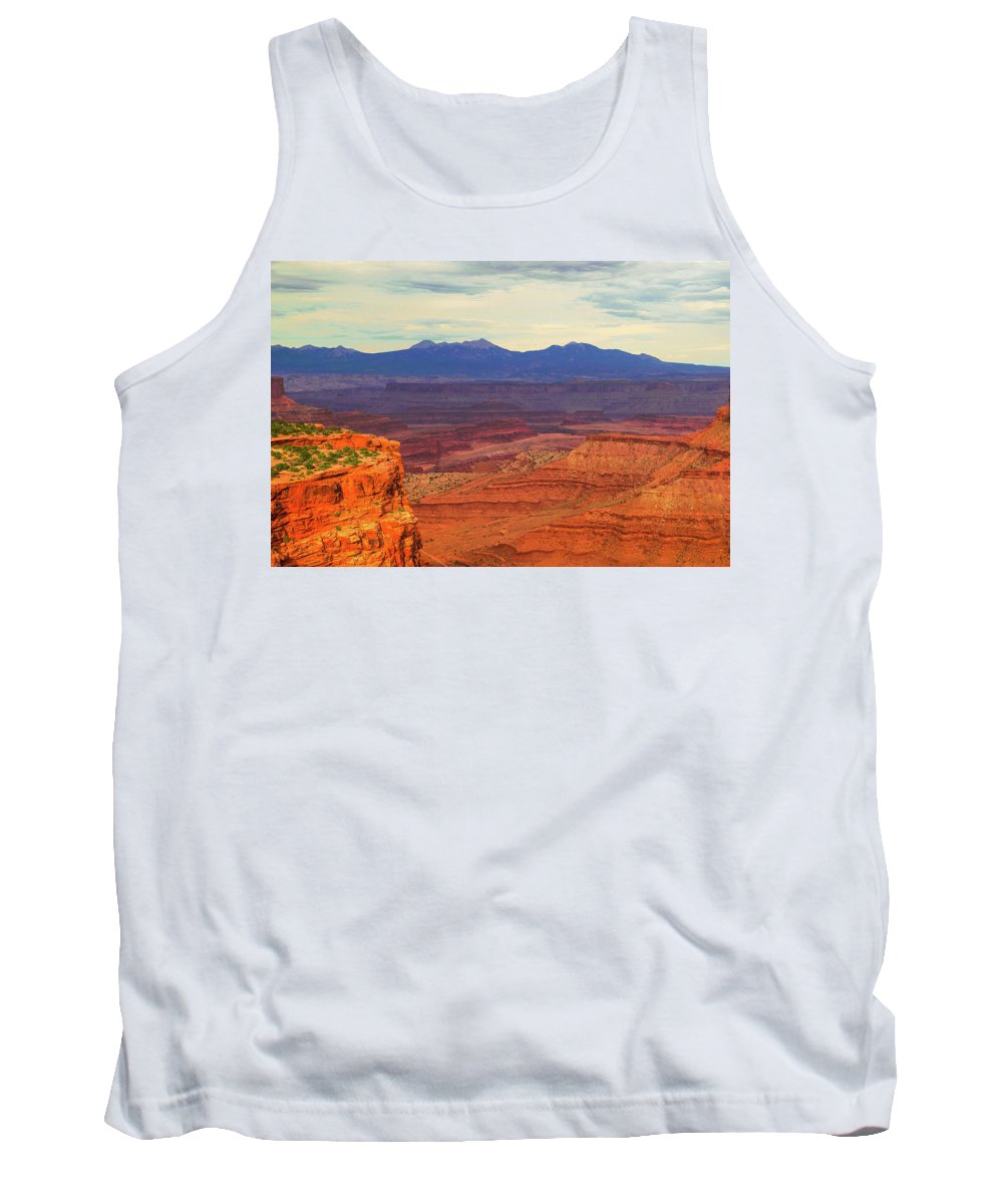 Arches Tank Top featuring the photograph High Desert by Aaron Geraud
