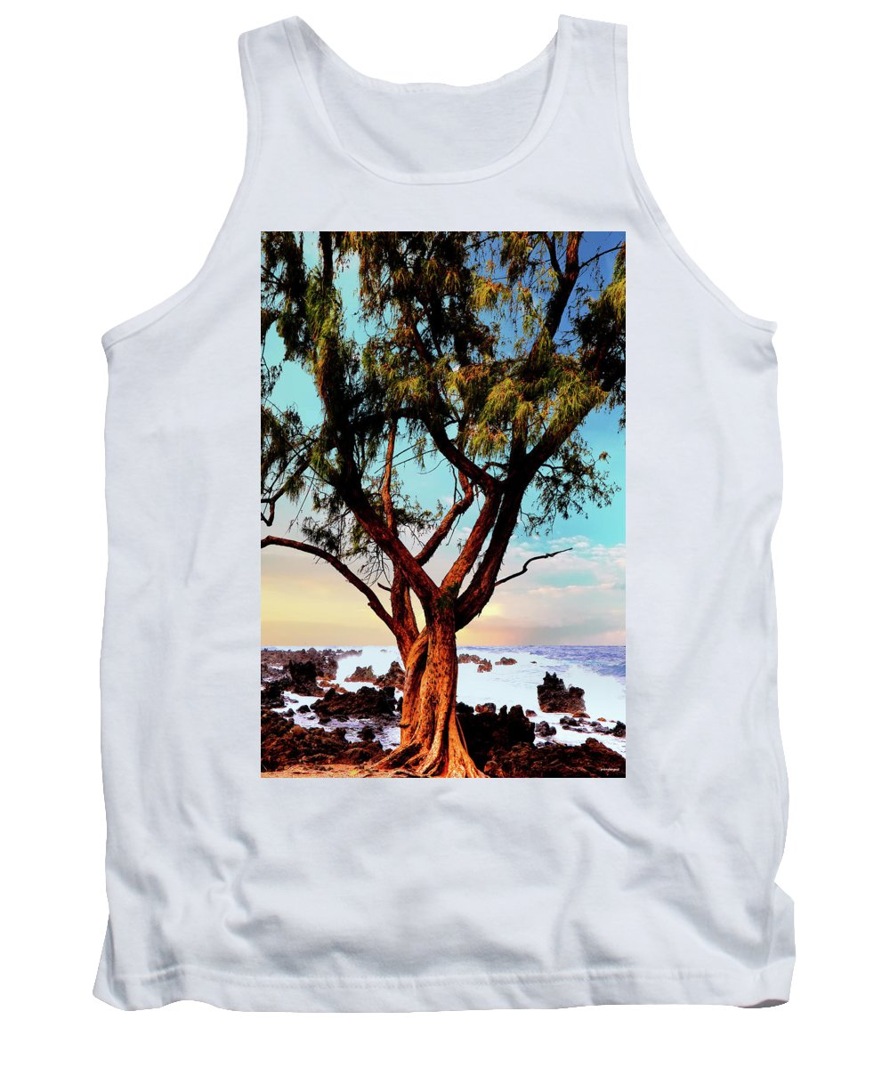 Hawaii Tank Top featuring the photograph Maui Coast by Tom Prendergast