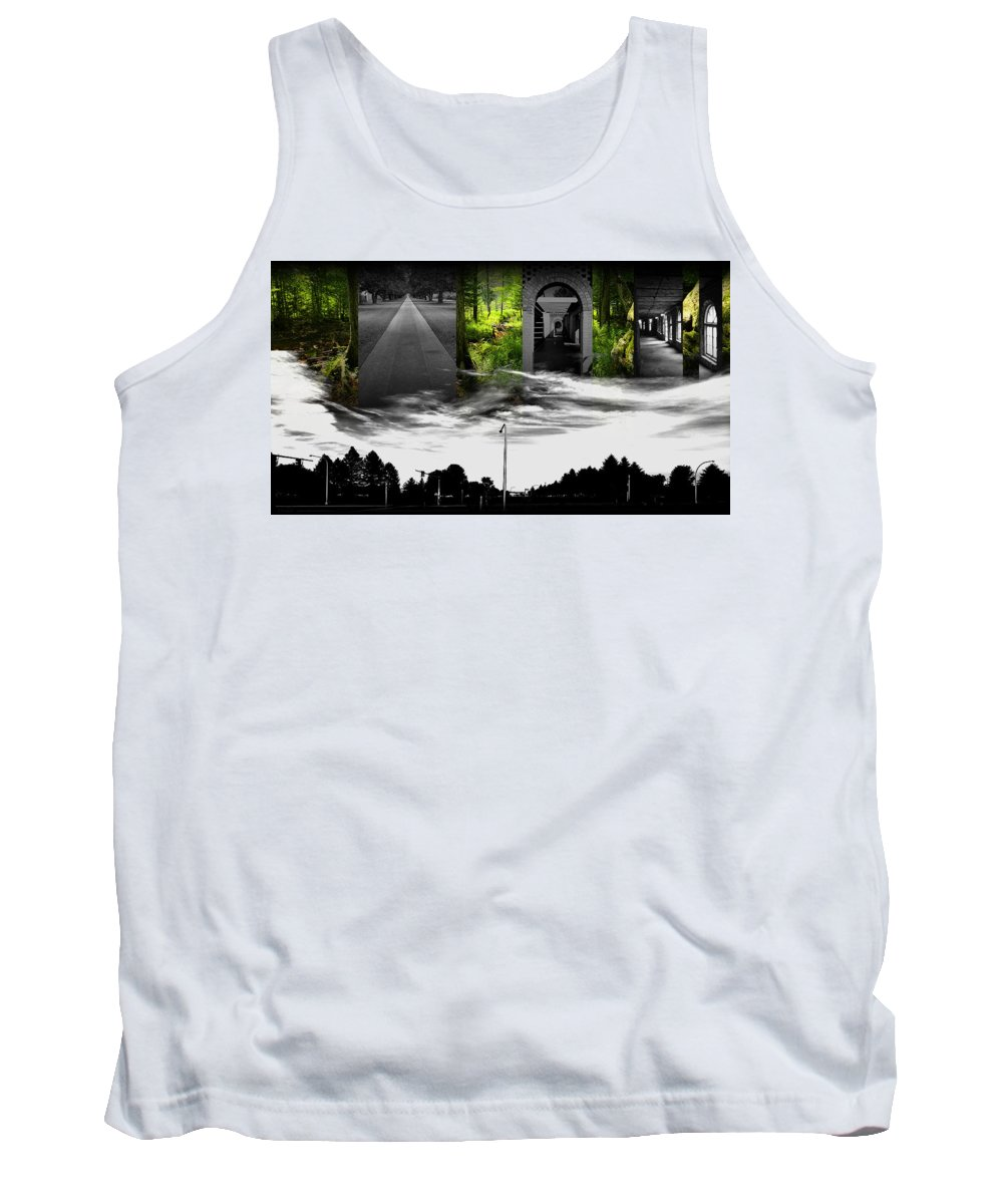 Tank Top featuring the digital art 00010 by Adrian Maggio