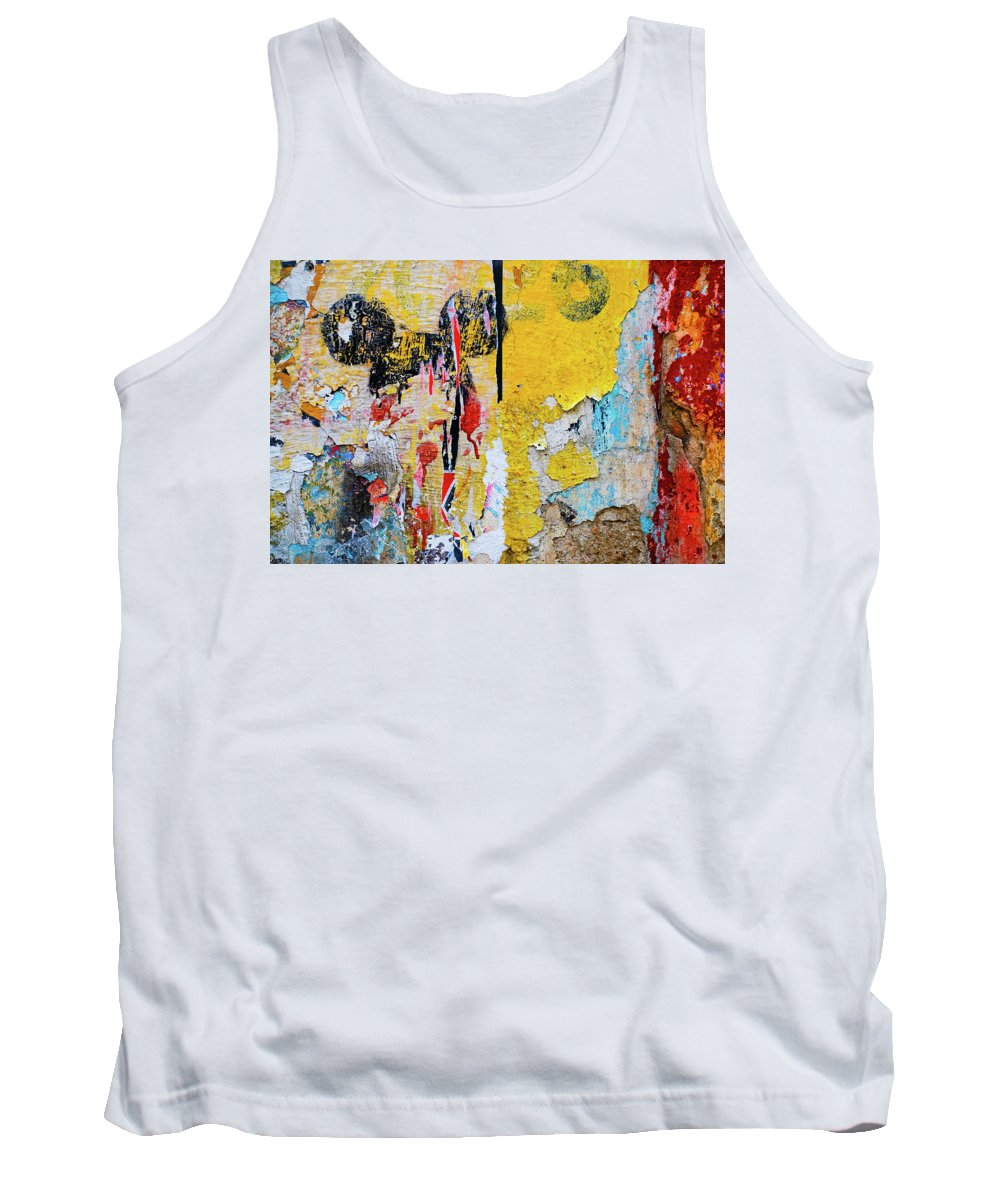 Mickey Mouse Tank Top featuring the photograph Mickeys Nightmare by Skip Hunt