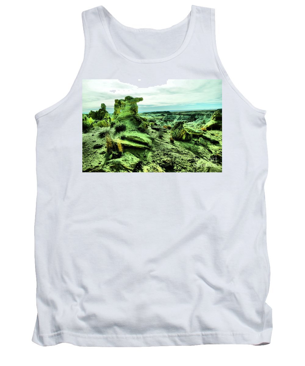 New Mexico Tank Top featuring the photograph New Mexico Raw by Jeff Swan
