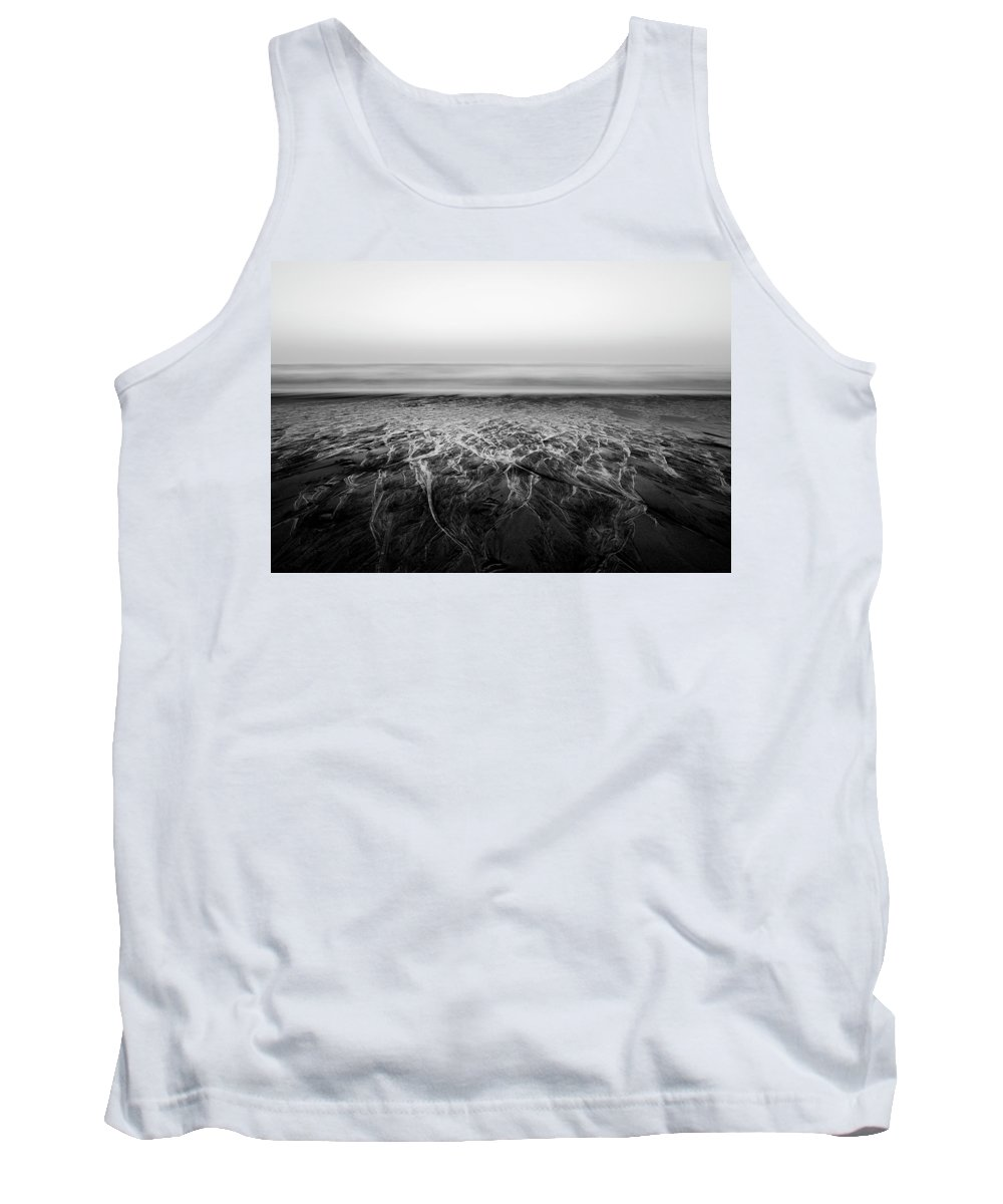 Serenity Tank Top featuring the photograph Rivers Flowing Into The Night by Edgar Laureano