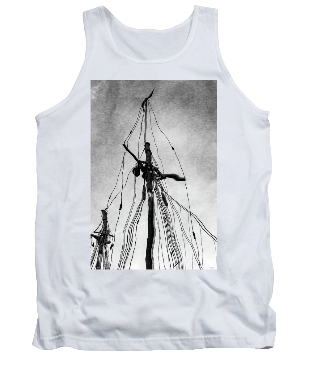 Maine Tank Top featuring the photograph Shakedown Cruise by Ray Silva