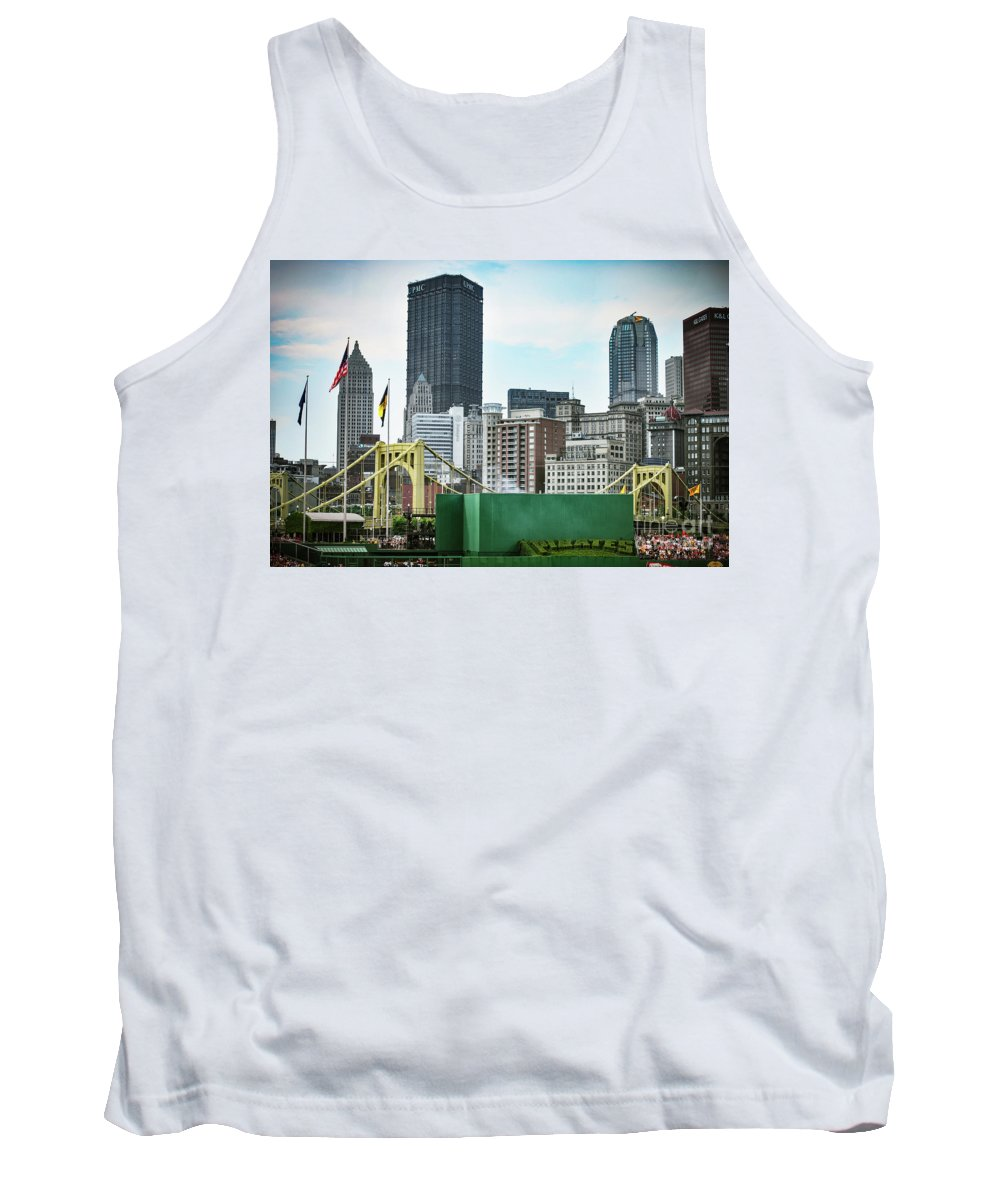 Pnc Tank Top featuring the photograph View From The Stadium by Judy Wolinsky