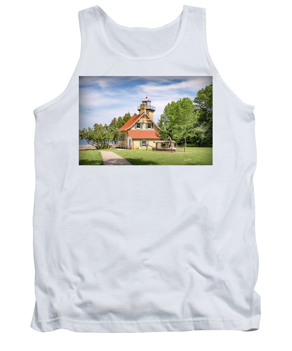 Lighthouse Tank Top featuring the photograph 20-0608-0081 by Anthony Roma