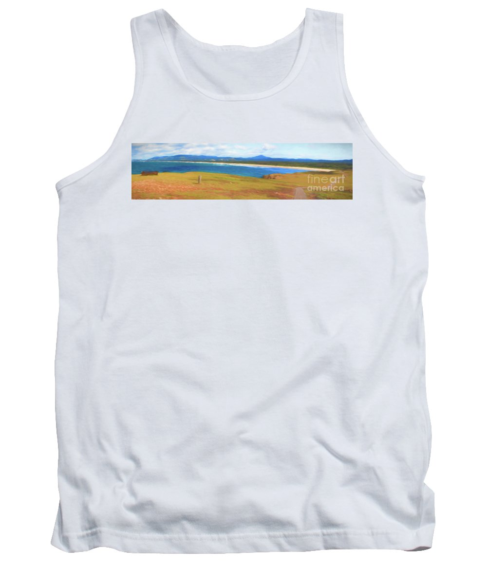 Look At Me Headland Tank Top featuring the photograph Look at Me Headland by Sheila Smart Fine Art Photography