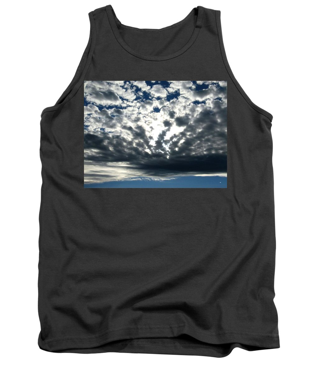 A Glorious Cloudscape Tank Top featuring the photograph A Glorious Cloudscape by Will Borden