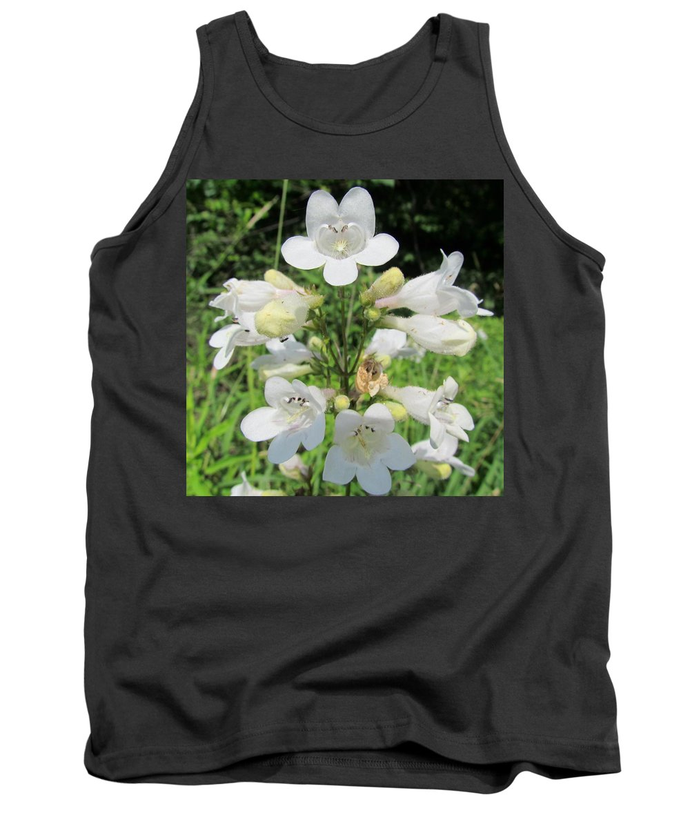 Fox Glove Breadtonge Tank Top featuring the photograph Breadtonge by Eric Noa