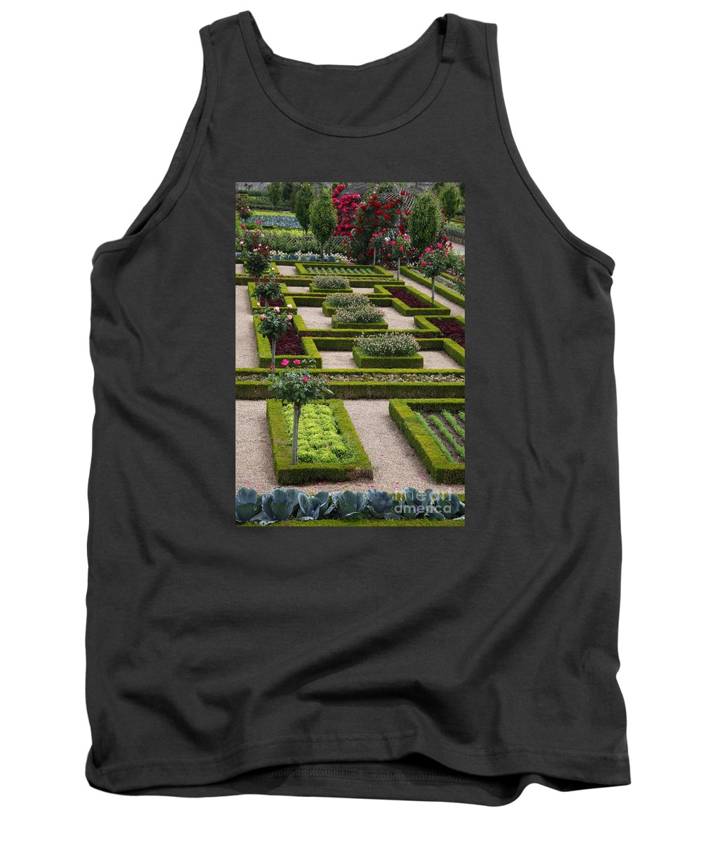 Cabbage Tank Top featuring the photograph Cabbage Garden Chateau Villandry by Christiane Schulze Art And Photography
