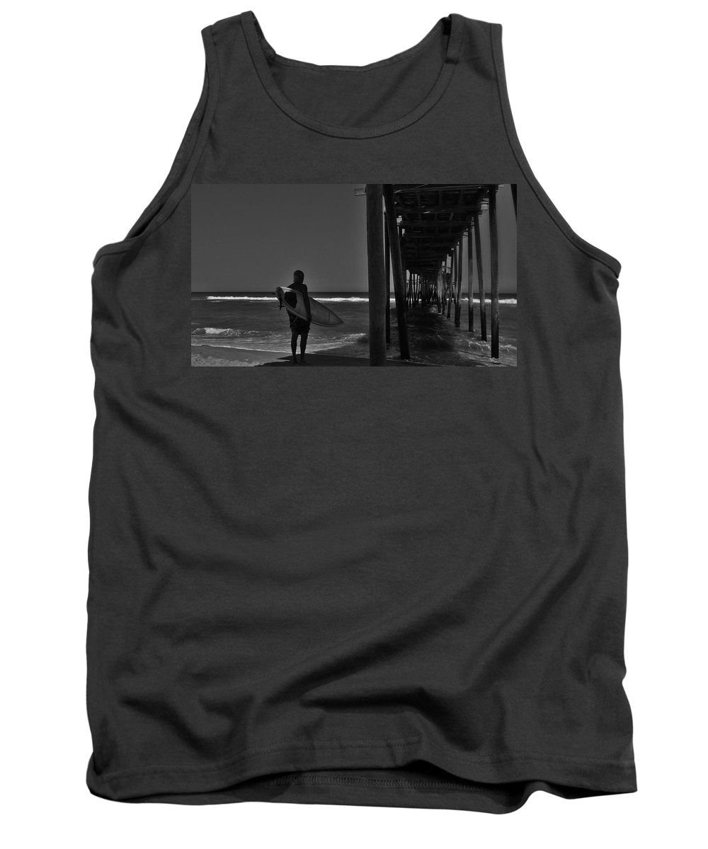 Mark Lemmon Cape Hatteras Nc The Outer Banks Photographer Subjects From Sunrise Tank Top featuring the photograph Suggest A Name by Mark Lemmon