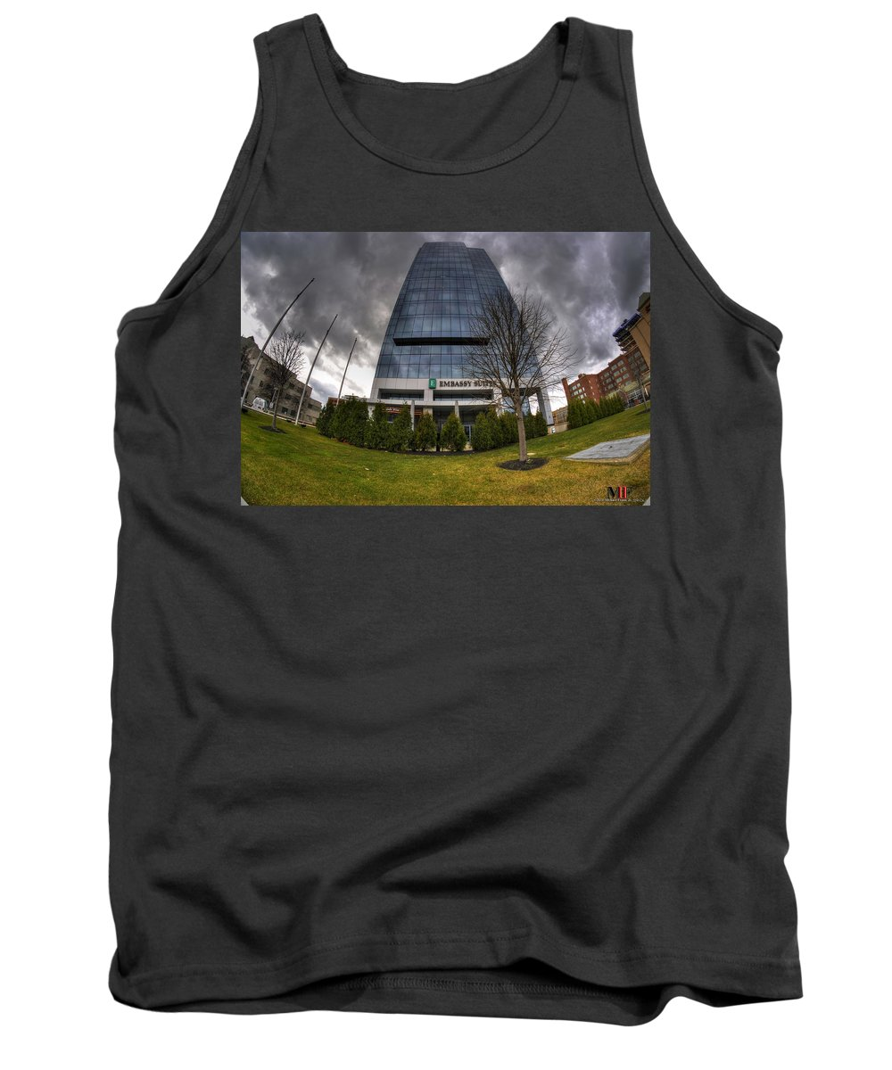 Michael Frank Jr Tank Top featuring the photograph 0028 Embassy Suites by Michael Frank Jr