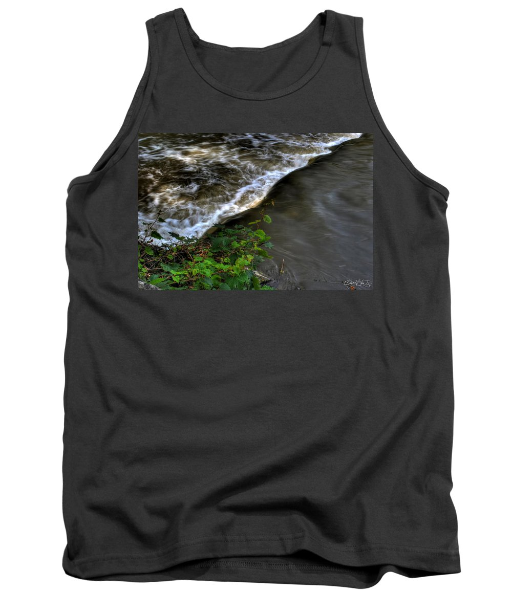 Michael Frank Jr Tank Top featuring the photograph 008 Glen Falls Of Williamsville New York Series by Michael Frank Jr