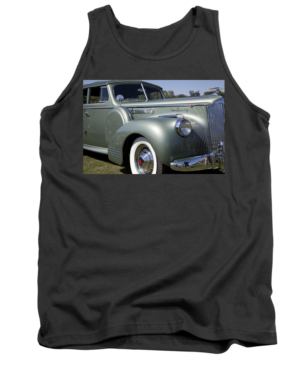 1941 Tank Top featuring the photograph 1941 Packard 160 Super Eight by Jack R Perry