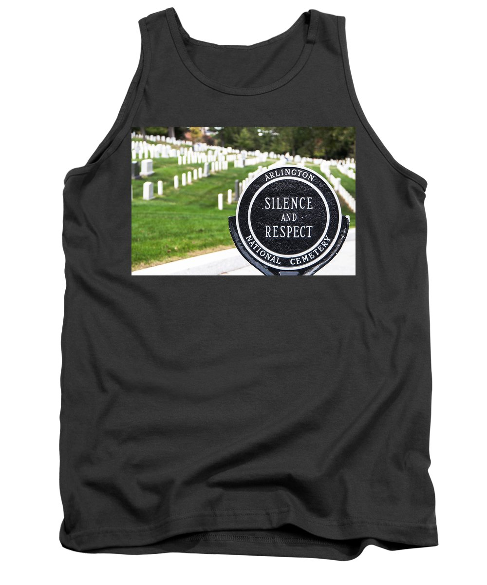 Cemetery Tank Top featuring the photograph Arlington National Cemetery Part 1 by Alex Hiemstra