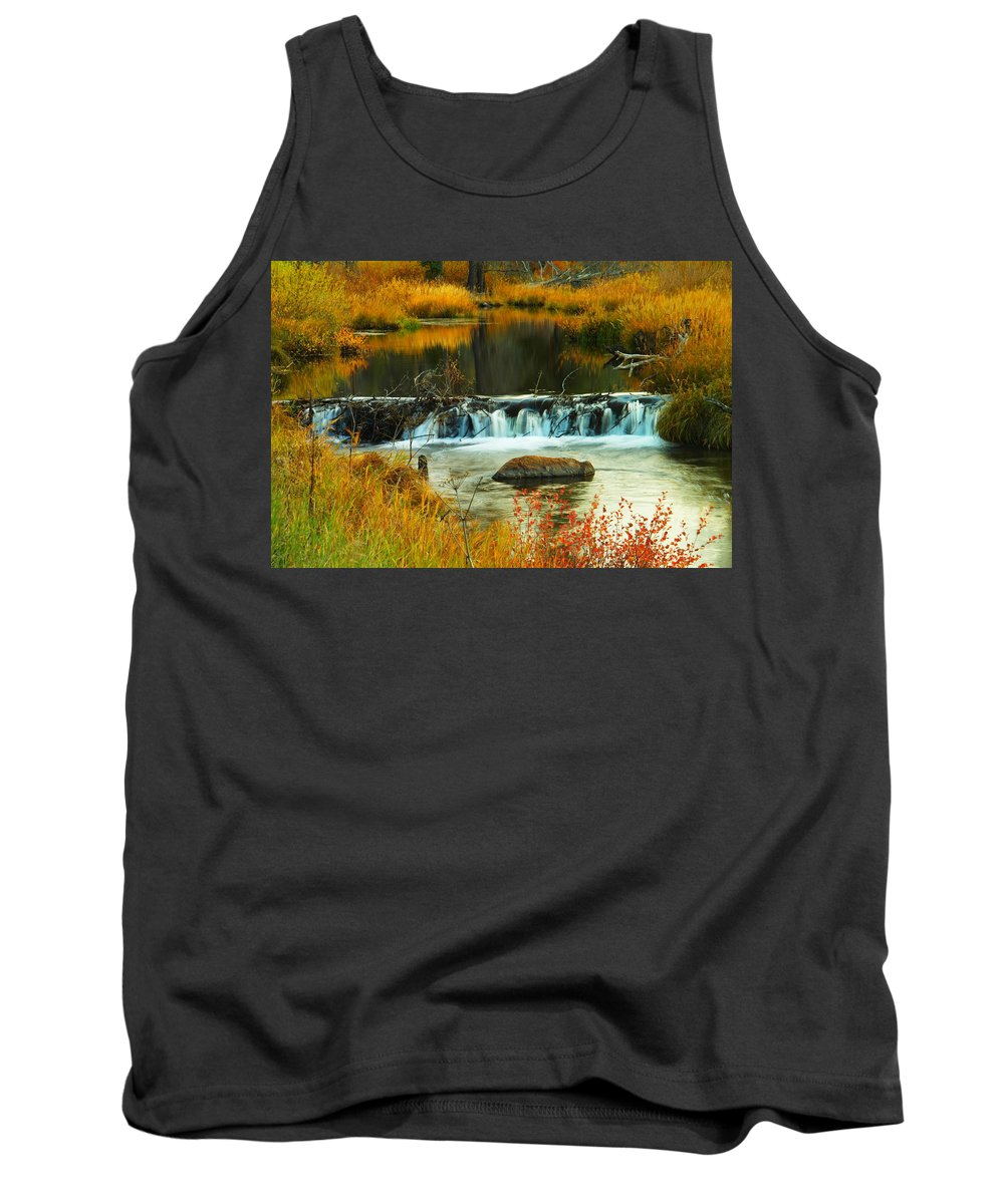 Rivers Tank Top featuring the photograph Beautiful Water by Jeff Swan