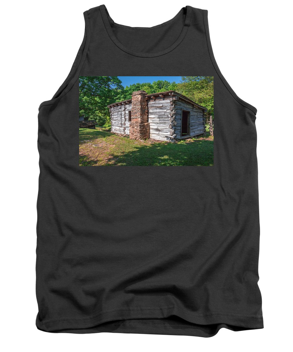 Cumberland Gap National Historical Park Tank Top featuring the photograph Blacksmith Shop by Mary Almond