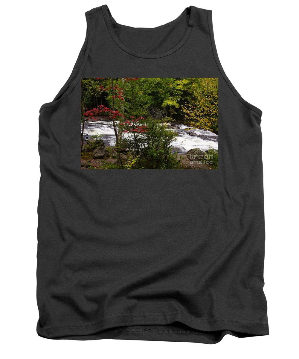Rivers Tank Top featuring the photograph Bog River by Jeffery L Bowers