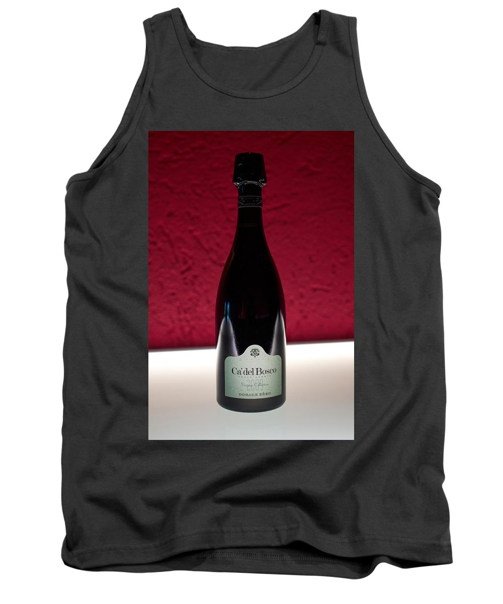 Francacorta Tank Top featuring the photograph Ca Del Bosco Winery. Franciacorta Docg by Jouko Lehto