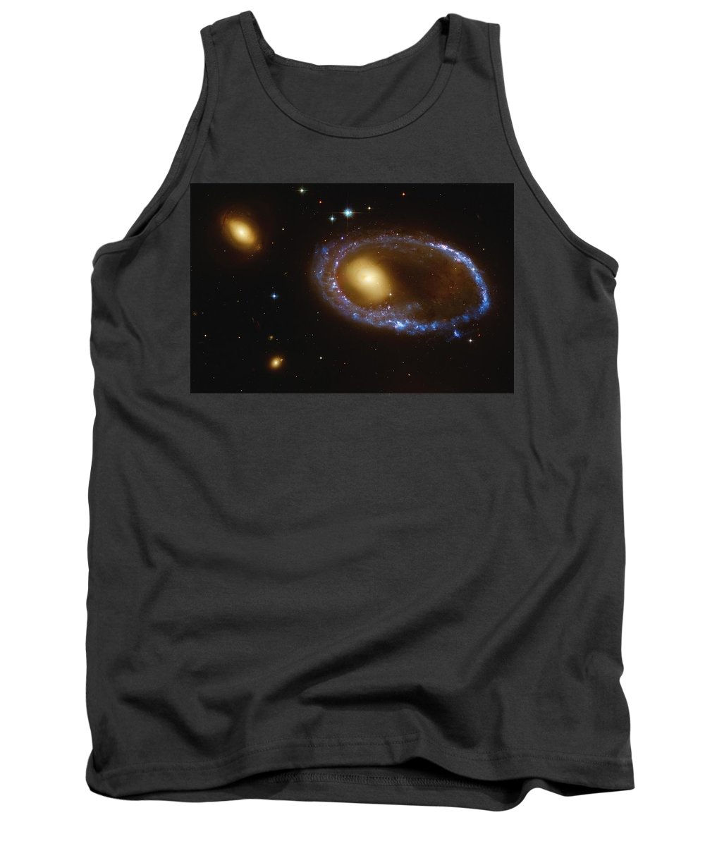 Astronomical Tank Top featuring the photograph Celestial Objects by Steve Nagy