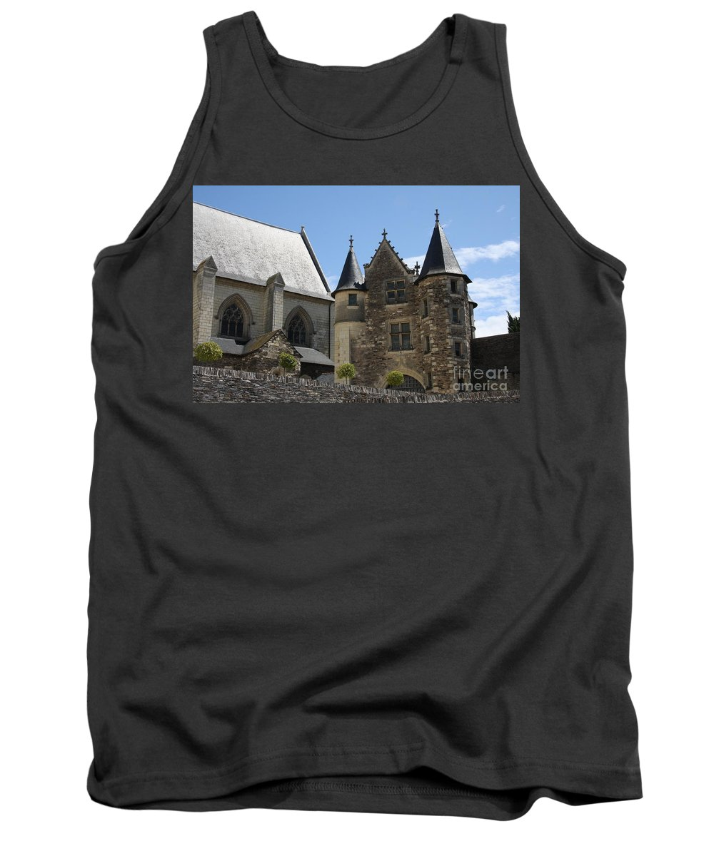Castle Tank Top featuring the photograph Chateau D'angers by Christiane Schulze Art And Photography