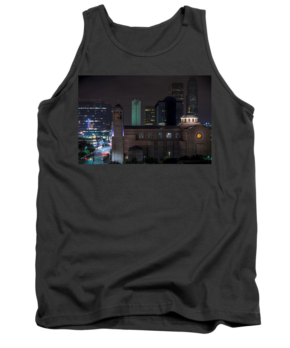 Catholic Tank Top featuring the photograph Cocathedral Of The Sacred Heart by David Morefield