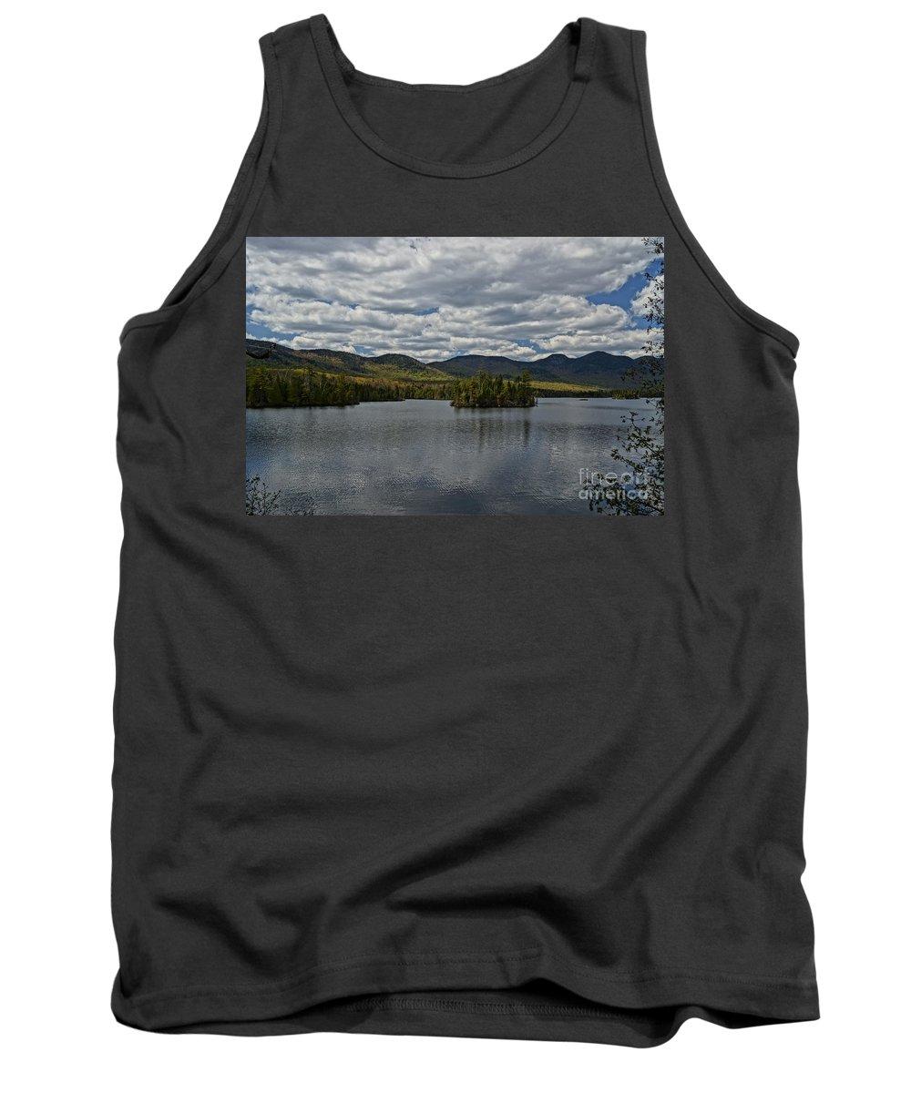 Lake View Tank Top featuring the photograph Elk Lake by Jeffery L Bowers